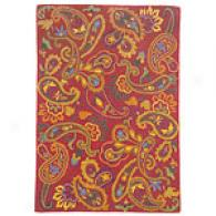 Company C Manjari Chirography Tufted Multicolor Wool Rug