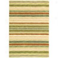 Company C Sheffield Stripe Cilantro Rug
