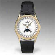 Concord 18k Gold Alligato rLeather Watch