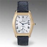 Concord Bennington Mens 18k Golden Gold Watch
