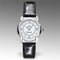 Concord Impresario Womens Leather Strap Watch