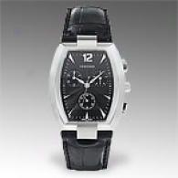 Concord La Scala Mens Alligator Leather Watch