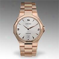 Concord Mariner18k Rose Gold Watch
