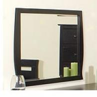 Contempo Black Bedroom Mirror
