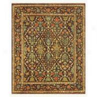 Copper Hand Knotted Wool Rug