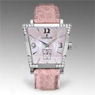 Corum 0.50 Cttw. Diamond Bezel Pink Trapeze Watch