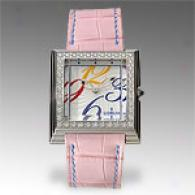 Corum Womens 0.80 Cttw. Pink Diamond Watch