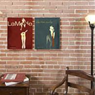 Couture Set Of 2 Outdoor Canvas Prints