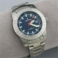 Croton Mens Aquamatic Stainless Steel Watch