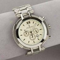 Croton Mens Dress Chronograph Watch