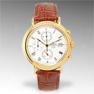 Crofon Men's Gold-tone Chronograph