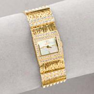 Croton Womens Swarovski Crystal Watch