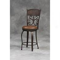 Crown Back Barstool