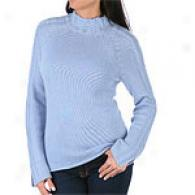 Cullen Cashmere Long Sleeve Cable Sweater