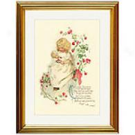 Curly-locks, Curly-locks Framed Print
