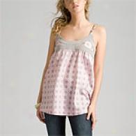 Cynthia Rowley Pink Caning Print Cami Top