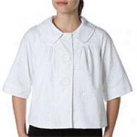 Cynthia Steffe Marylou Cotton Eyelet Jacket