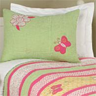Daisy Butterfly Kids Cotton Quilt Set