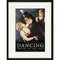 Dancing 17in X 23in Framed Print