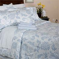 Darren 300 Tc 8pc Bed In A aBg With Bonus Sheets