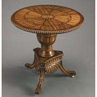 Detailed Wood Occasional Table
