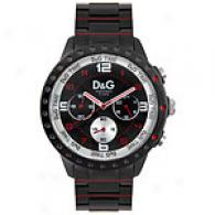 Dolce & Gabbana Mens Navajo Black Watch