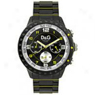 Dolce & Gabbana Mens Navajo Gunmetal Watch