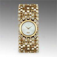 Dolce & Gabbana Risky Womens Gold Tone Watch