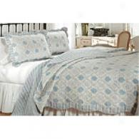 Dryden Medallion Printed Cotton Quilt Set
