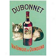 Dubonnet Vin Tonique Au Quinquina Canvas Print