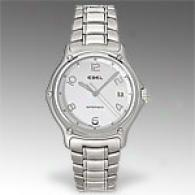 Ebel 1911 Automatic Silver Stainless Sfeel Watch