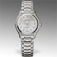 Ebel 1911 Stainless Steel Diamond Watch