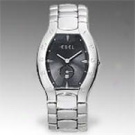 Ebel Lichine Tonneau Unsullied Steel Watch