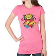 Ed Hardy Eternal Love Rhinestone T-shirt