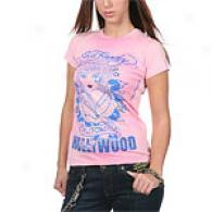 Ed Hardy Hollywood Emotive Pink Tee