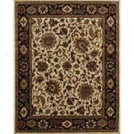 Edi Dark Ivory/ebny Hwnd Tufted Wool Rug