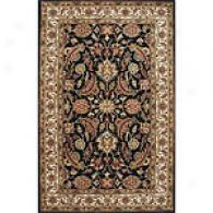 Edi Ebony & Dark Ivory 5x8 Hand Tufted Wool Rug