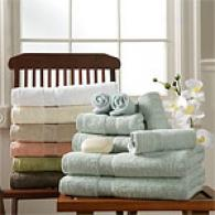 Egyptian Estate 6pc Towel Set W/2 Bonus Washcloths