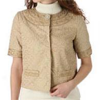 Elie Tahari Cotton Poplin Hadley Jacket