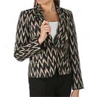 Emanuel By Emanuel Ungaro Tribal Print Jacket