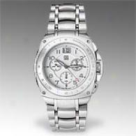 Esq Bracer Mens Stainless Steel Chrono Watch