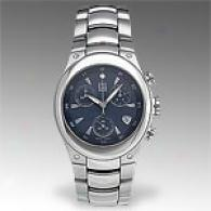 Esq Centurion Mens Stainless Steel Blue Dial Watch