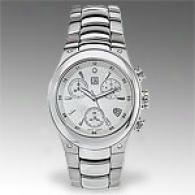 Esq Centurion Spotless Silver Dial Mens Watch