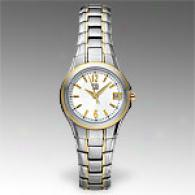Esq Assemblage Womens Two Tone Stainless Watch