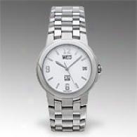 Esq Crestone Mens Silver Dial Watch
