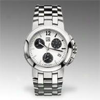 Esq Crestone White Dial Chronograph Watch