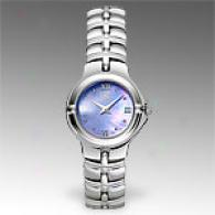 Esq Muse Womens Stainless Steel Mop Watch