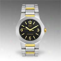 Esq Oceania Two Tone Blaco Dial Watch