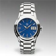 Esq Quuest Blue Dial Stainless Steel Watch