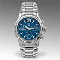 Esq Quest Mens Stainless Steel Blue Dial Watch